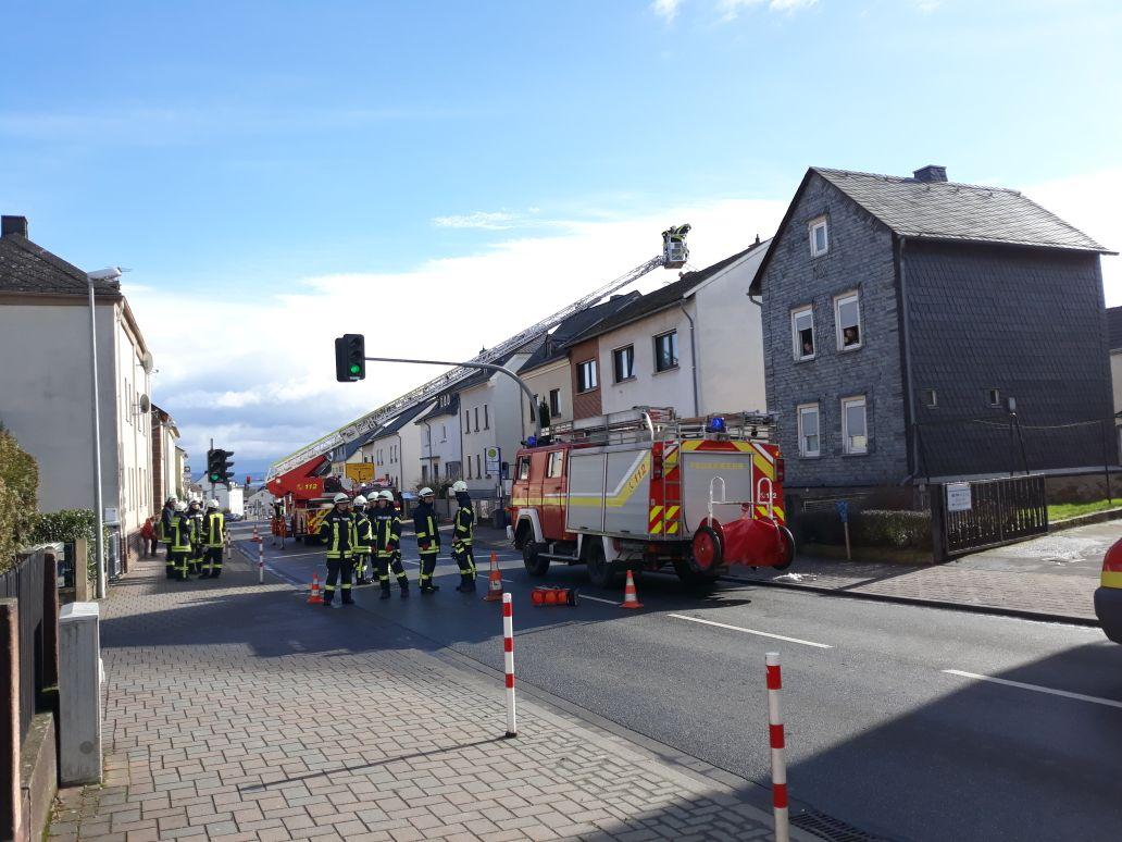 Kaminbrand in Wohnhaus